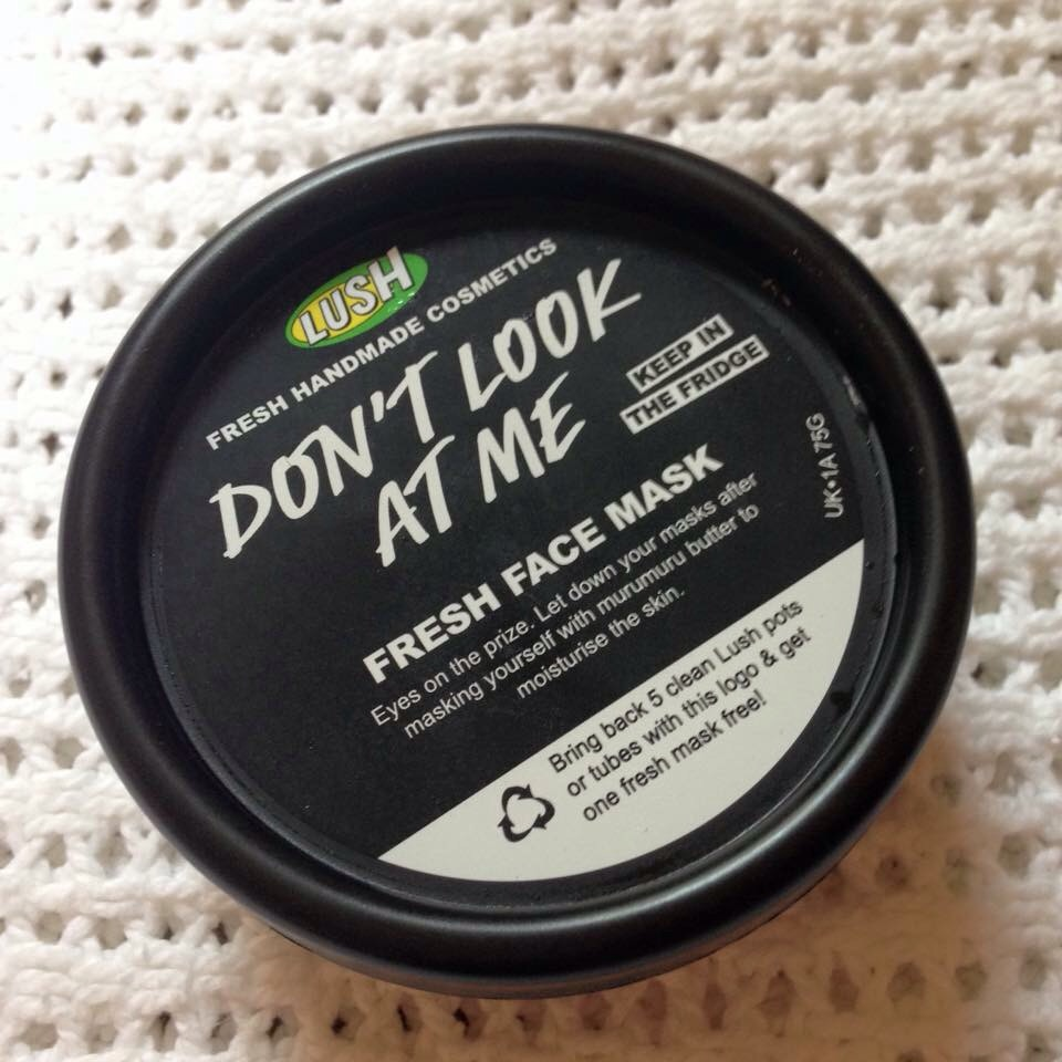 Dont look at me lush face mask review - Don T Look At Me Fresh Face Mask From Lush