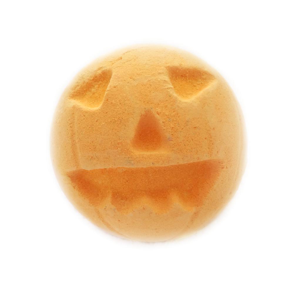 pumpkin-bath-bomb