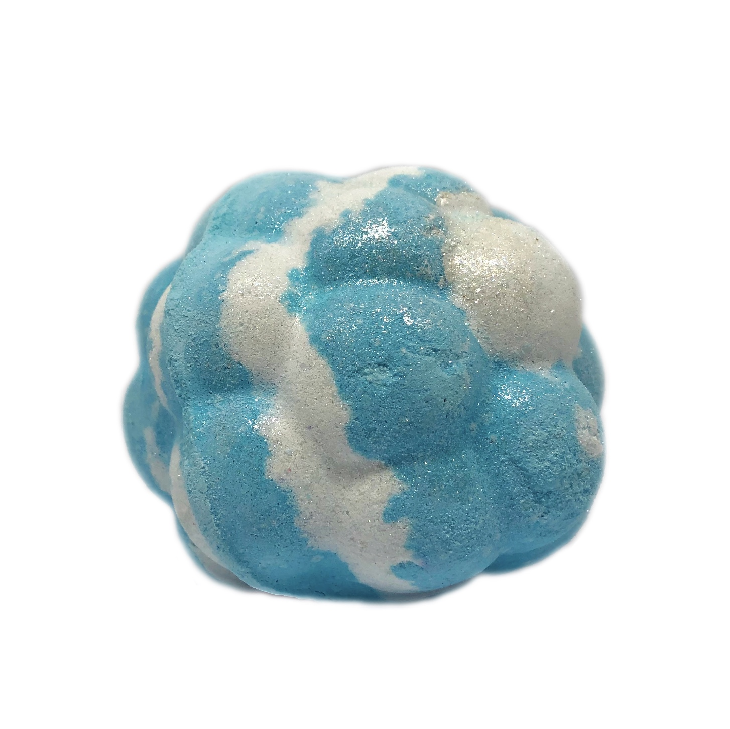 Blue Skies and Fluffy White Clouds Bath Bomb